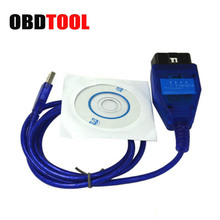 Auto OBD2 USB Diagnostic Cable for Fiat VAG Ecu Scan Tool Read Clear Engine ABS AirBag ESP Faults Cars OBD Connector JC20