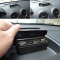 Auto Car Coin Pocket Cases Holder Plastics Storage Box Dispenser For Automotive Saving Organizer Moneybox