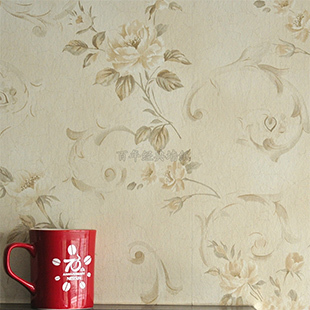 2015 Rushed Wallpaper Roll Papel De Parede Para Sala American Non-woven Wallpaper The Sitting Room Bedroom Tv Setting Wall Paper