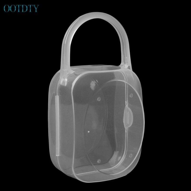 Hot Selling New Portable Baby Kid Feeding Bottle Pacifier Soother Nipple Case Holder Storage Box #330