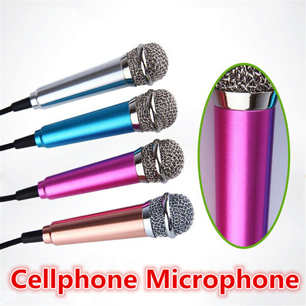 compare prices on small microphone online shopping buy low price mini 3 5mm handheld karaoke ktv cellphone microphone wired small recorder microphone for cellphone computer sing