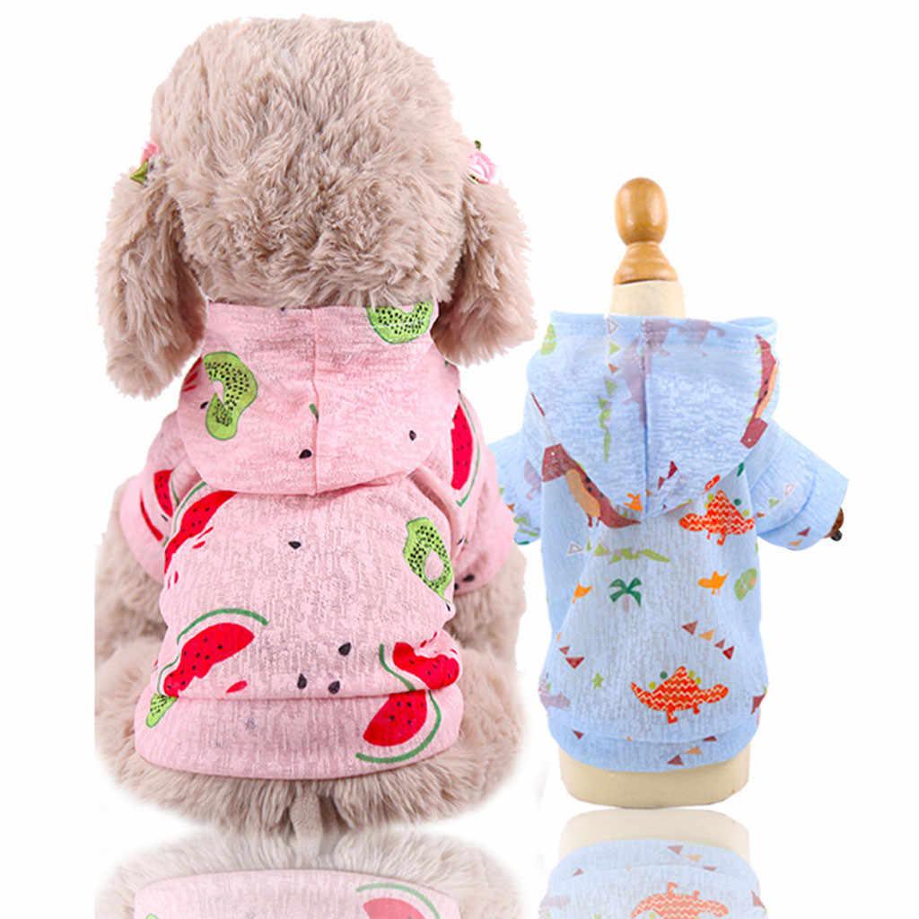 Одежда для кошки, собака, кошка, платье, дышащее праздничное платье, одежда для маленьких собак, арбуз, dinasaur fontaine a eau pour chat
