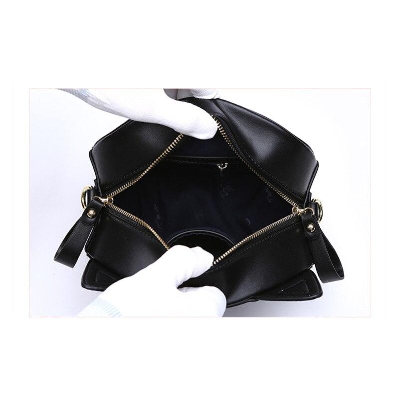 Cat Cross Body Bag Սև ձեռքի պայուսակ Cute - Պայուսակներ - Լուսանկար 6
