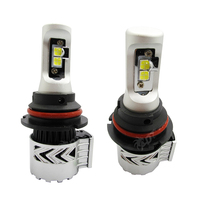 For Audi A8 For Ford S MAX No Error 8G H3 Auto Led Headlight Kit DC12V 24V 40W 6000K 6000LM CR XHP 50 High Power Headlamp