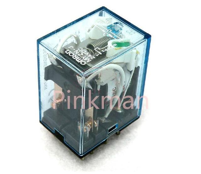 5pcs 220V 110V 12V 24V MINI Intermediate Relay Coil Power Relay DPDT