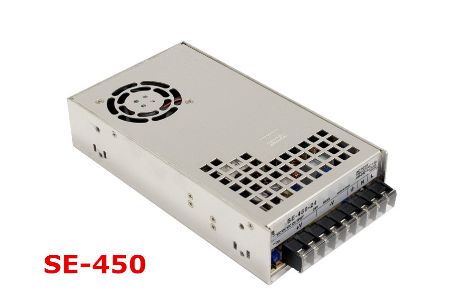 Free shipping 1pc  SE-450-12 450w  12v  37.5A Single  Output Switching Power Supply