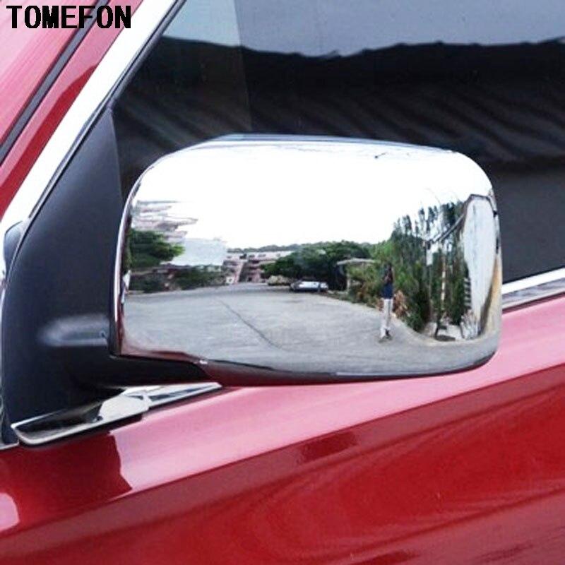 TOMEFON ABS Chrome porte latérale rétroviseur cadre de couverture pour Nissan Qashqai 2007 2008 2009 2010 2011 2012 2013 garnitures extérieures