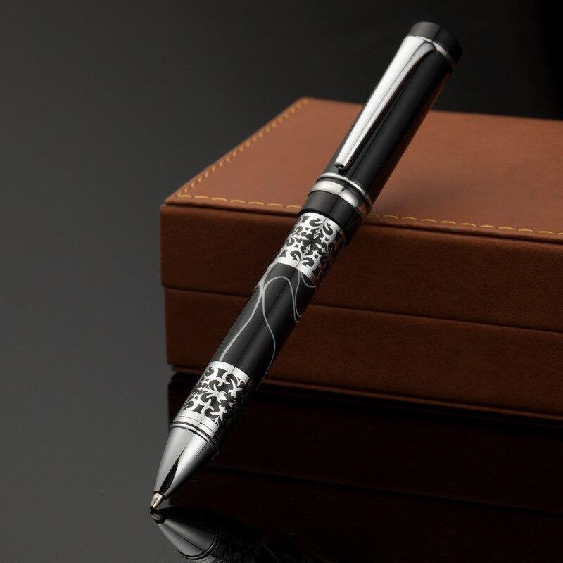 Purple Barrel Classic Design Chrome With Gem,Heavy Gift Zoohot Brand New Jinhao Fountain Pen Fine Nib