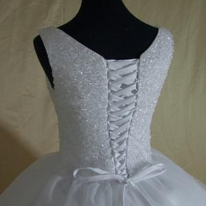 Image 5 - 2020 New Luxury Bling Bling Wedding Dress Custom made Plus Size Bride Wedding Gown Vestido De Noiva