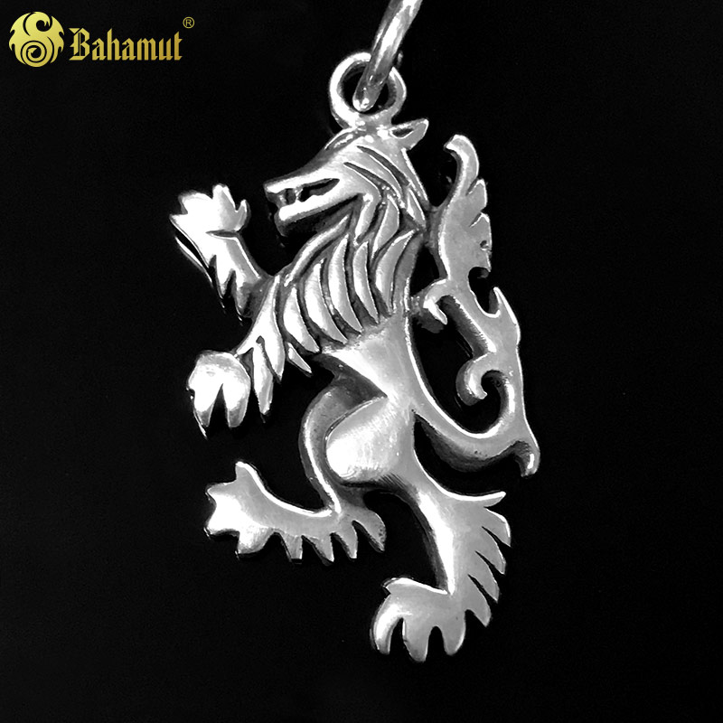 Game of Thrones Jewelry Pedant Song of Ice and Fire 925 Silver Vintage Lion Pepdant for Men and Students стоимость