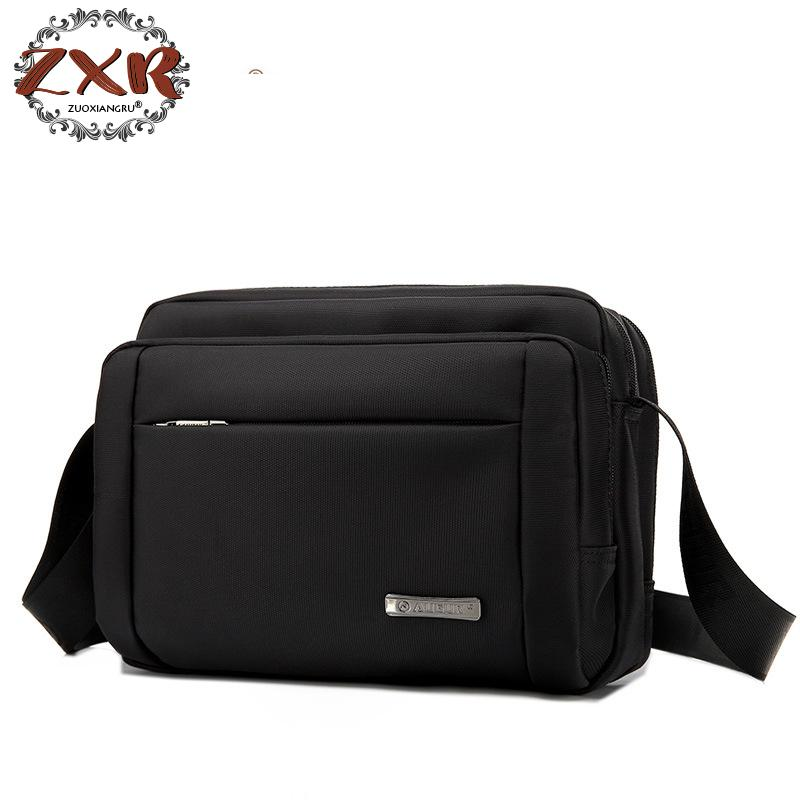 Male Vintage Executive For Documents Men Small Casual Business Messenger Bag Mens Shoulder Crossbody Bags