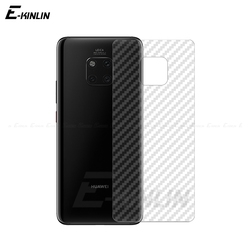 На Алиэкспресс купить стекло для смартфона clear soft carbon fiber protective back film for huawei mate 30 rs 20 20x 5g 10 9 lite pro rear screen protector no glass