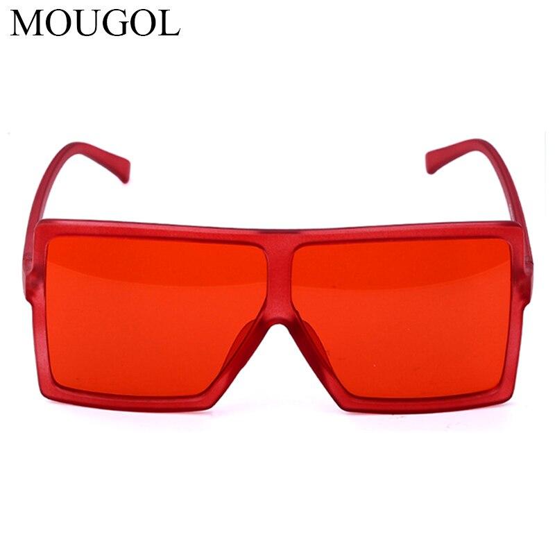 MOUGOL Vintage Square Sunglasses Women Goggles Mens Oversize Sun Glasses Female Fashion Famous Brand Black Eyewear Gafas de sol