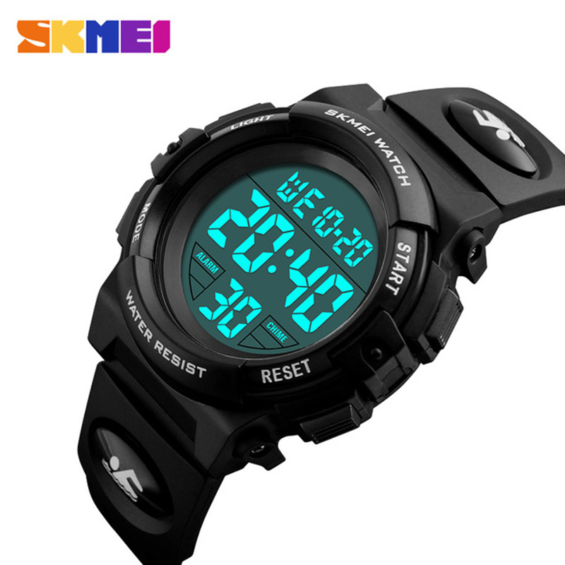 Children Watches LED Digital Multifunctional Waterproof Wristwatches Outdoor Sports Watches For Kids Boy Girls SKMEI 2018