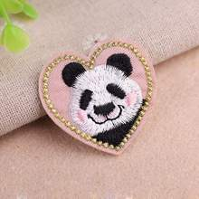 Cute Cartoon Cat Animal Embroidery Cloth Stickers Fabric Patches Diy Clothing Jeans Jacket Decorative Accessories