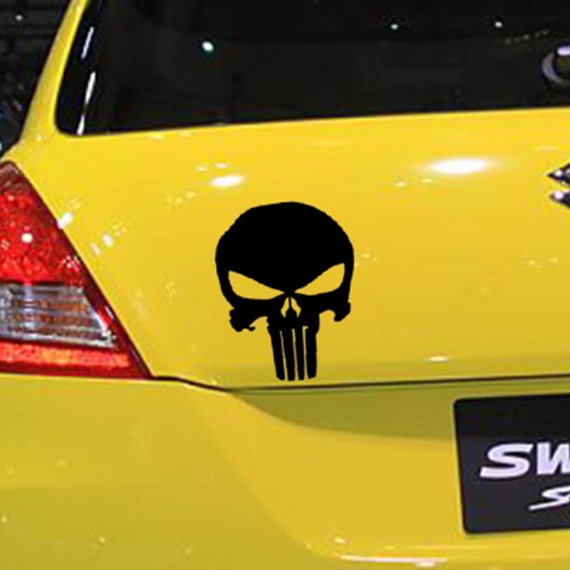 Aliexpress Com Buy Punisher Skull Vinyl Decal For Car