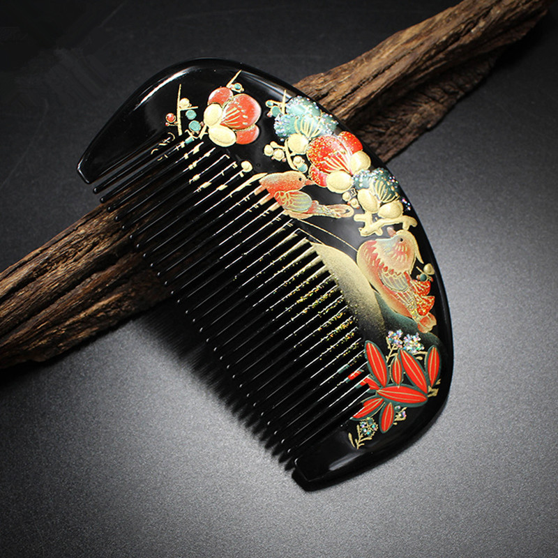 high quality 1pcs boxwood handmade comb Wood Hair Combs makeup Head Massager Antistatic Wooden brush best gift 1pcs lot j112y imitation of brass wire brush for cleaning and polishing wooden brush diy using high quality on sale