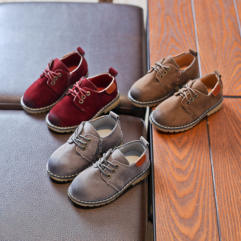 73c30092efde AFDSWG PU tendon soft brown kids leather shoes gray princess girls shoes  brown school shoes boys kids princess shoes-in Leather Shoes from Mother    Kids on ...