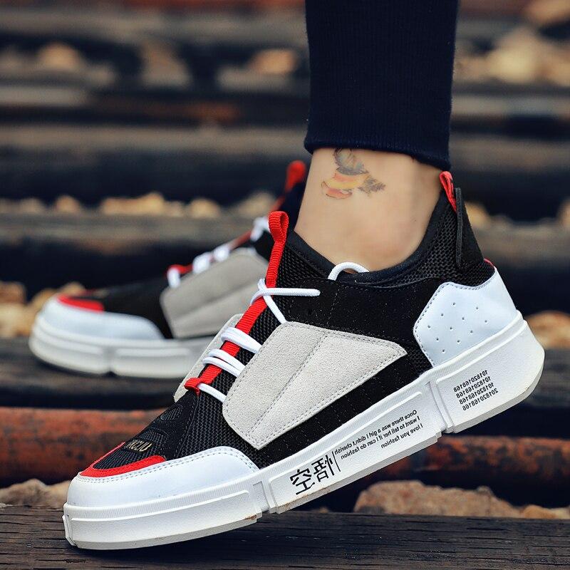 red 5 De Hombre Estudiantes Trend Casual Black Transpirable green Moda Tablero Zapatos Lona Blanco gray Hombres Nueva Zapatillas 2018 XOUU6W