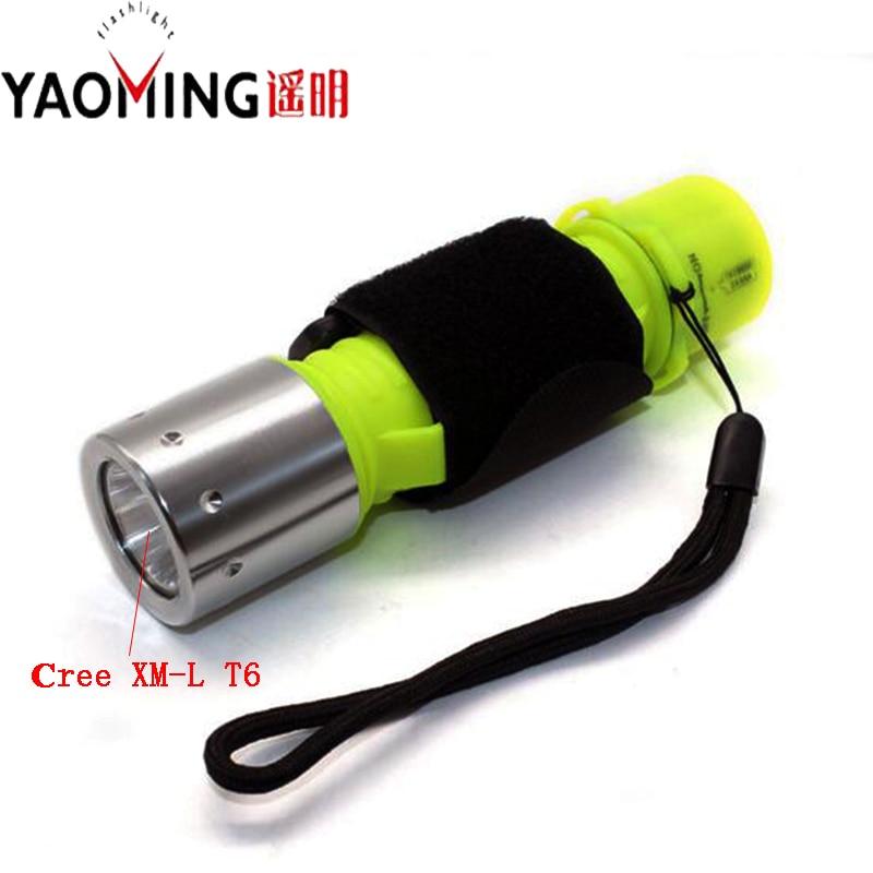 چراغ قوه زیر آب چراغ قوه Linternas Lantern Cree - روشنایی قابل حمل
