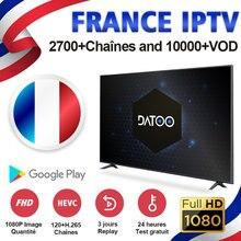 DATOO IPTV 1 Year IPTV France Arabic Italy Spain Portugal 1 Year IP TV Subscription Code IPTV France Arabic Italy Spain Portugal