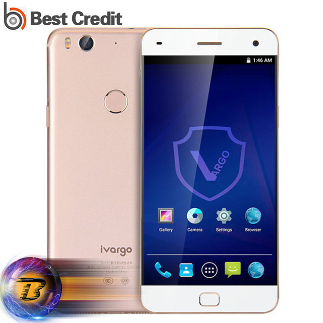 Original IVARGO V210101 Mobile Phone 3GB RAM 32GB ROM Snapdragon 615 Octa Core 5.0 Inch IPS FHD Screen NFC 4G LTE Smartphone