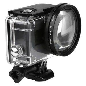 Image 1 - 58ミリメートル拡大鏡10x倍率マクロクローズアップレンズ移動プロヒーロー5ブラックエディションケース