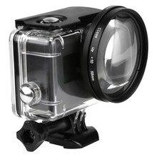 58 мм Лупа 10x увеличение Макросъемка крупным планом объектив для GoPro Hero 5 Black Edition чехол