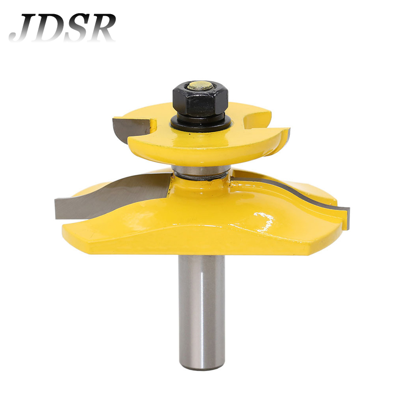 JDSR 1/2''Shank Stile Ogee Blade Cutter Panel Cabinet Chisel Raised Panel Router Bit Woodworking Tenon Milling Cutter Wood Tools цена
