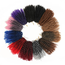 Curly Crochet Synthetic Hair Extensions