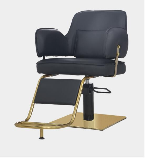 Web Celebrity Hairdressing Chair Barbershop Chair Hair Salon Special Lift Can Put Down The High-end Hair Cutting Chair Of The Ha