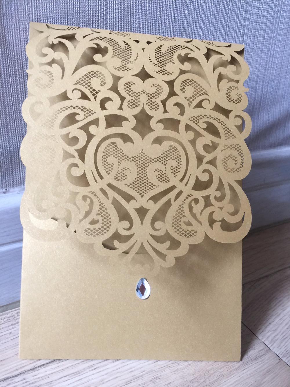 25pieces Fancy Lace Wedding Invitation Cardsbirthday Party Greeting