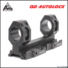 Scope mount 25.4mm 30mm Weaver picatinny rail scope Rings Extended Cantilever QD Mounts Bases With Auto Lock Hunting