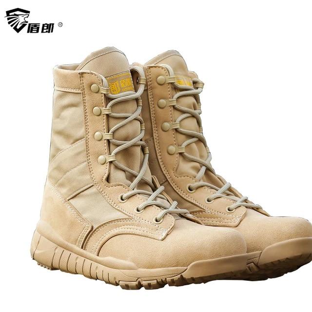 Men Military Tactical Boots Summer Autumn Breathable Mens Boots Botas  Militares Hombre Lightweight Walking Army Combat Boots 4c1df0a61191