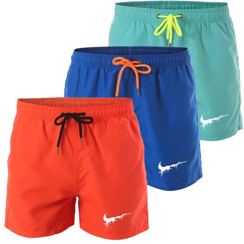 New Brand Mens Swim Shorts Swimwear Trunks Surffing Shorts Swimming Short Pants Swimsuits Mens Running Sports Beach Board Shorts