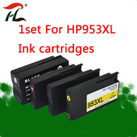 4PK Compatible Ink Cartridge 953 953XL for HP pro 7740 8210 8218 8710 8715 8718 8719 8720 8725 8728 8730 8740 printer for hp953