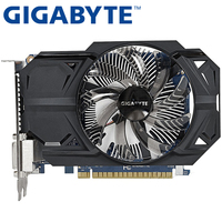 GIGABYTE Graphics Card Original GTX 750Ti 1GB 128Bit GDDR5 Video Cards For NVIDIA Geforce GTX750Ti Hdmi