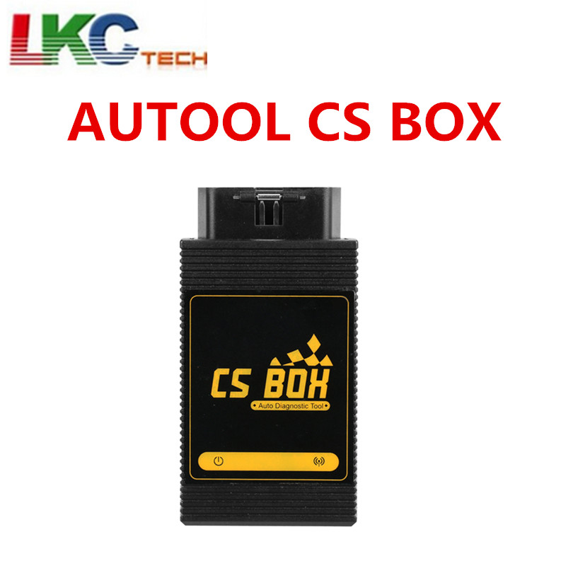 AUTOOL CS BOX OBDII Multi System WiFi Diagnostic Tool ETC Airbag ABS Key Coding for Android Better than Launch Easy Diag Mdiag vdm ucandas wifi full system automotive diagnostic tool multi language newest version v3 73 include for h onda adapter