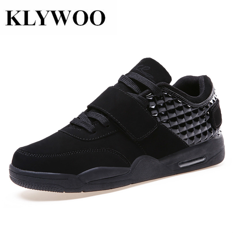 KLYWOO Hot New Arrival Men Shoes Fashion Autumn Winter Casual Flats High Top Shoes Men PU Lace Up Comfortable Zapatos Hombre men shoes new autumn fashion men casual shoes lace up warm brand winter shoes mixed color high top flat with mens shoes