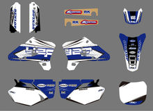 0052 New Simple Style TEAM GRAPHICS&BACKGROUNDS DECALS STICKERS Kits for YZ250F YZ450F YZF250 YZF450 2003 2004 2005