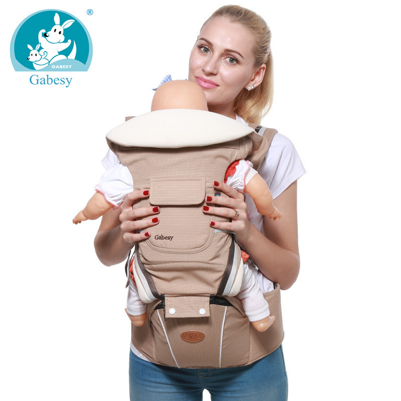 luxury 9 in 1 hipseat ergonomic baby carrier 360 mochila portabebe baby girl boy sling backpack Kangaroos children wrap infantil