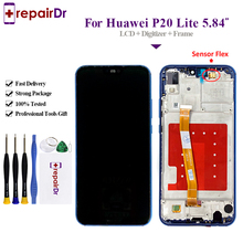 5.84LCD Display For Huawei P20 Lite/Nova 3E Touch Screen Digitizer Assembly With Frame Tested Lite LCD