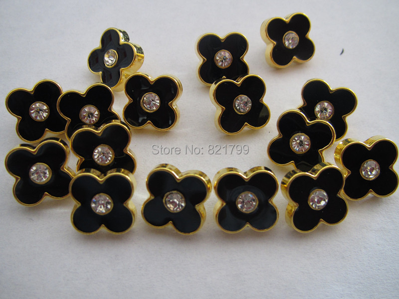 1.1cm baby abs button gold color with rhinestone plastic fashion button for shirt button