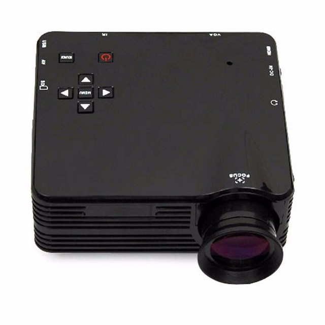 Главная Кинотеатр Мультимедиа LED Lcd-проектор HD 1080 P ПК А. В. VGA USB HDMI