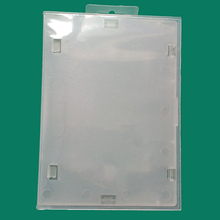 Alta Qualidade Limpar caixa de plástico transparente caso protetor para SEGA gamepad para MD/FC