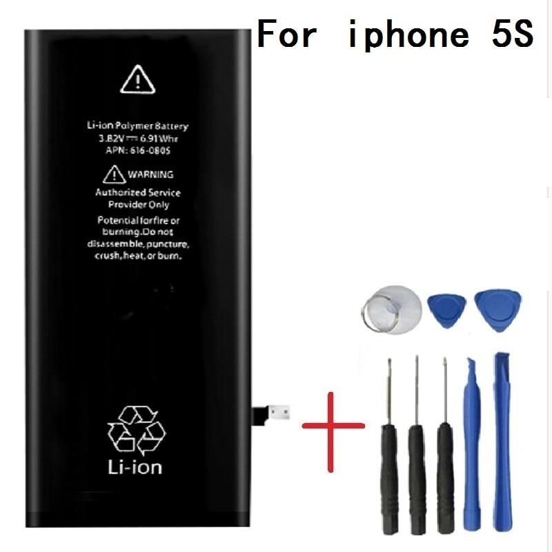 Antirr Original Handy-akku Für iphone 5 S Reale Kapazität 1560 mAh Mit Reparatur Werkzeuge Kit Und Batterie Aufkleber