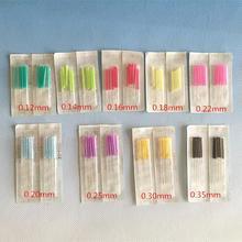 EACU Steriele acupunctuur naald plastic handvat wegwerp naald schoonheid massage 0.12/0.14/0.16/0.18/0.20/ 0.22/0.25/0.30mm