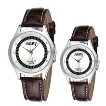 Пара новых водонепроницаемые часы кварцевые часы ремень алмазные дисковые указатель студентов и студенток