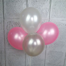 50pcs/lot 12 inch 2.8g Latex balloon Helium Round balloons Thick Pearl pink white sliver party wedding decoration