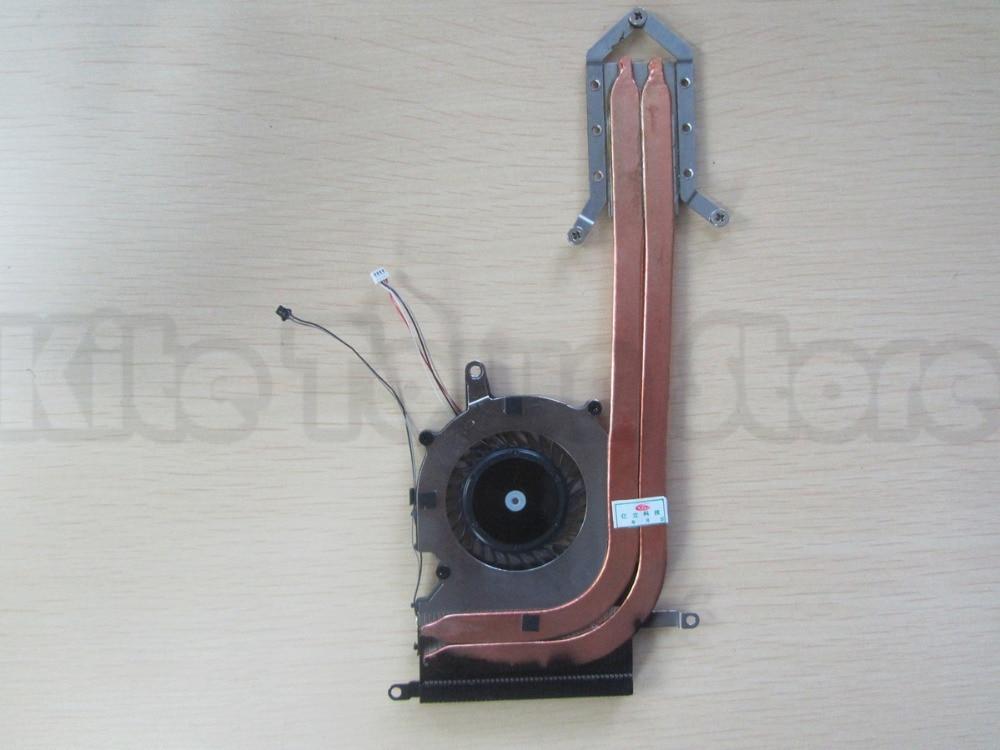 Fan With Heatsink for Sony Vaio Pro13 SVP132 SVP132A 300-0001-2755 UDQFVSR01DF0 Free Shipping